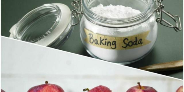 Βάλτε φρούτα και λαχανικά μέσα σε μαγειρική σόδα  - Το αποτέλεσμα θα σας αφήσει άφωνους