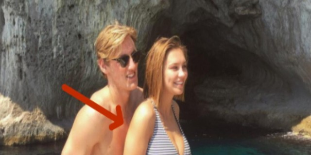 Η φωτογραφία αυτή με το ζευγάρι κρύβει ένα θανάσιμο κίνδυνο για τον άνδρα - Μόλις το δείτε θα καταλάβετε