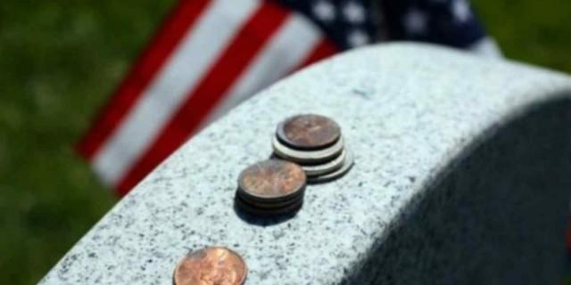 Προσοχή: Αν δείτε κέρματα πάνω σε τάφο μην τα ακουμπήσετε