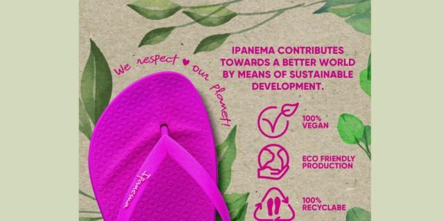 Βιώσιμη συλλογή από την Ipanema