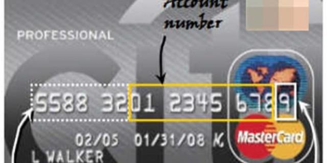 Γνωρίζετε τι σημαίνουν οι αριθμοί των πιστωτικών καρτών; Τίποτα δεν είναι τυχαίο
