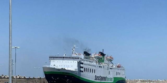 Συναγερμός στο λιμάνι του Ρεθύμνου: Προσέκρουσε το πλοίο