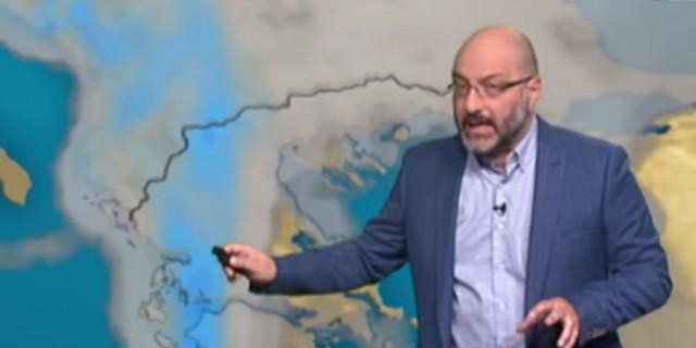 «Περιορίζονται οι βροχές και καταιγίδες, όμως...» - Η πρόβλεψη του Σάκη Αρναούτογλου μέχρι και την Κυριακή (Video)