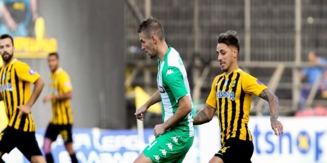 Super League 1, Play offs, Άρης-Παναθηναϊκός: 0-1: Χάθηκαν πολλές ευκαιρίες