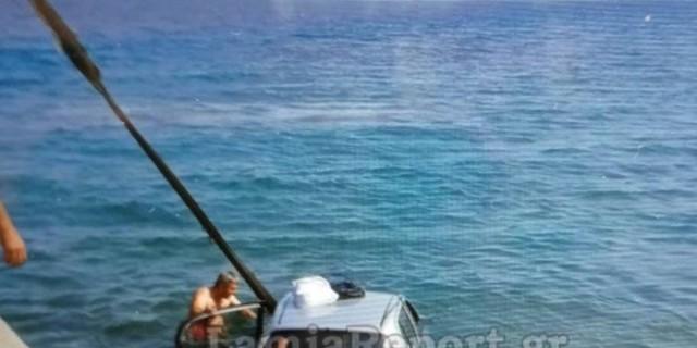 Γιαγιά και παππούς έπεσαν με το ΙΧ στην θάλασσα - Λίγο μετά έζησαν μια... θαύμα