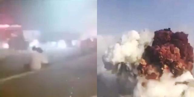 Αποκλειστικό βίντεο Athensmagazine.gr: Ο παραλιακός δρόμος της Βηρυτού μια ώρα μετά την έκρηξη