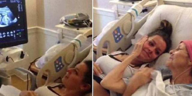 Συγκινητική ιστορία: Έγκυος γυναίκα μαθαίνει το φύλο του μωρού δίπλα στην ετοιμοθάνατη μάνα - Λίγο μετά...