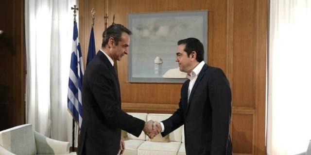 Συναγερμός στο Αιγαίο: Ενημερώνει τους πολιτικούς αρχηγούς ο Μητσοτάκης