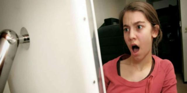 Όταν άνοιξε τον υπολογιστή του πατέρα της