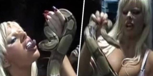 Αυτό το φίδι δάγκωσε τη γυναίκα στο στήθος της - Η συνέχεια είναι σοκαριστική