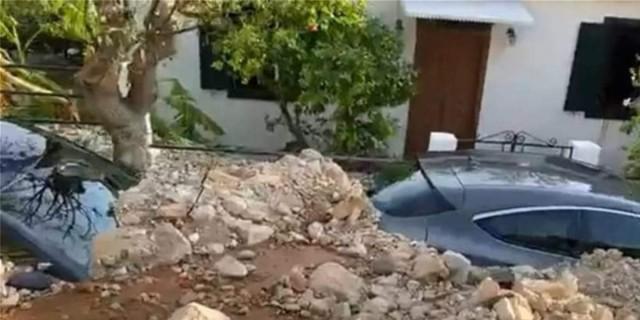 Άσσος: Βιβλική καταστροφή στο χωριό της Κεφαλονιάς από την κακοκαιρία (video)