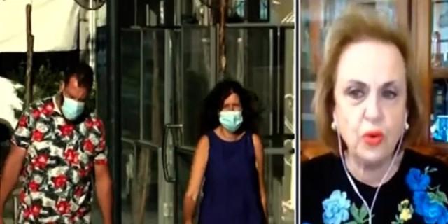 «Βόμβα» Παγώνη: Υποχρεωτική η μάσκα παντού στην Αττική από την επόμενη εβδομάδα (Video)