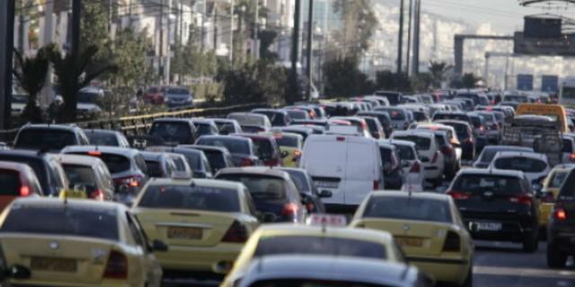 Κυκλοφοριακό κομφούζιο: Αυξημένη κίνηση στους δρόμους - Που έχει μποτιλιάρισμα (photo)