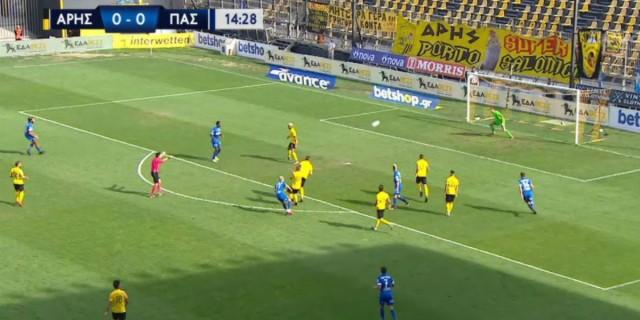 Super League: Ματσάρα και μοιρασιά (2-2) στο Άρης-ΠΑΣ Γιάννινα (Video)