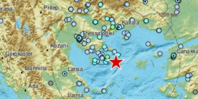 «Σείεται» η Χαλκιδική - Τέσσερις σεισμικές δονήσεις μέσα σε λίγες ώρες