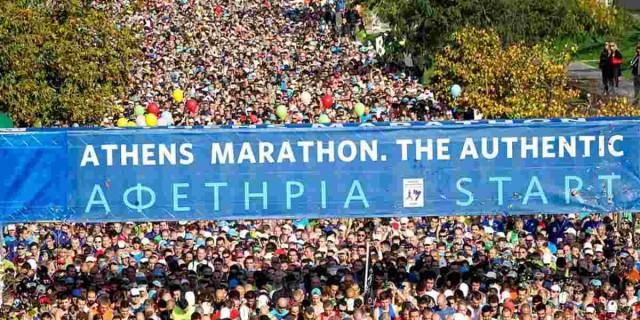 Κορωνοϊός: Ματαιώθηκε ο Μαραθώνιος της Αθήνας