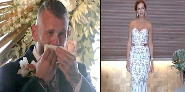 Ο γαμπρός δεν κατάλαβε γιατί η νύφη στάθηκε ακίνητη. Μόλις όμως την είδε να... (video)