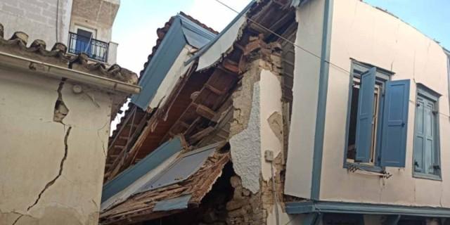 Σεισμός στη Σάμο: Μαζικές οι ζημιές στο νησί - Τραγικός ο απολογισμός