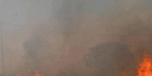 Φωτιά στο Αλιβέρι