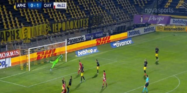 Super League: Μεγάλο διπλό του Ολυμπιακού στο «Βικελίδης» - Μόνος στην κορυφή (Video)