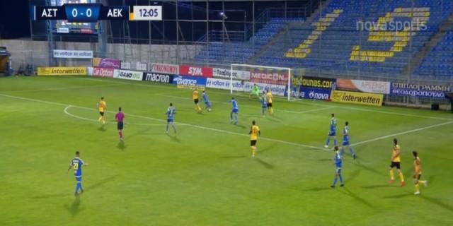 Super League: Τεράστιο διπλό της ΑΕΚ στην Τρίπολη (Video)