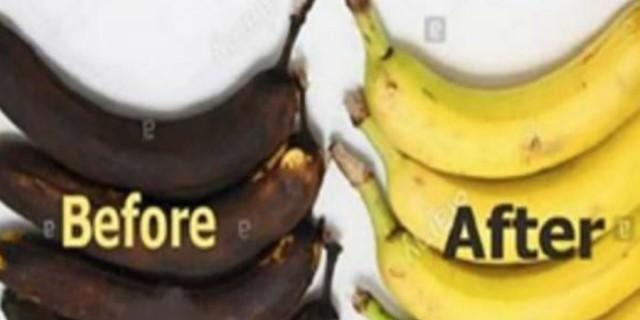 Μην πετάτε τις μαυρισμένες μπανάνες - Μπορείτε να τις επαναφέρετε (Video)