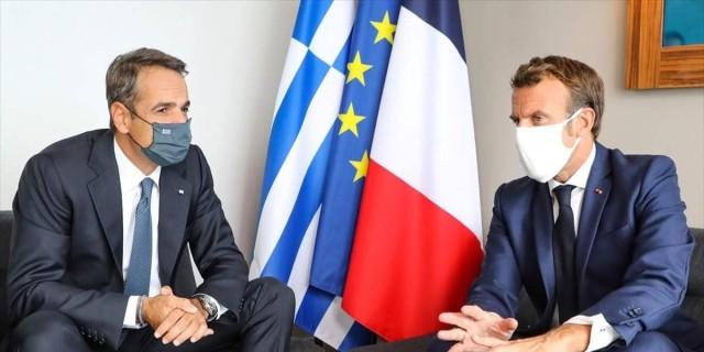 Τηλεφωνική επικοινωνία Μητσοτάκη - Μακρόν ενόψει της Συνόδου Κορυφής με φόντο τα ελληνοτουρκικά