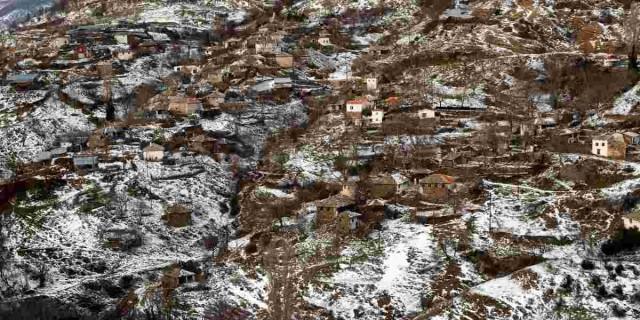 Η φωτογραφία της ημέρας: Στην Νυμφαία Ροδόπης όπου ήδη χιονίζει