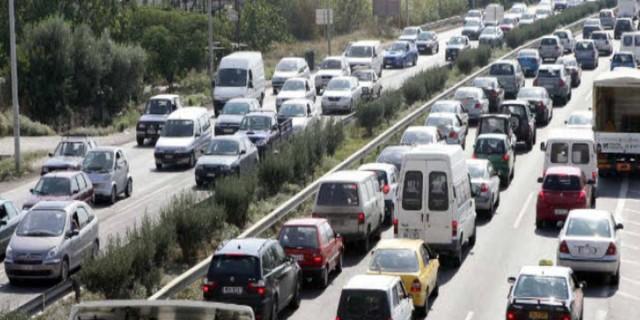 Θεσσαλονίκη - Lockdown: Κυκλοφοριακό κομφούζιο στους δρόμους