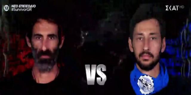 Survivor 4: Ντοπέ ο Πάνος Καλλίδης - Μεταμορφώθηκε στους μπλε και ξεφτίλισε και τον Κοψιδά! (video)