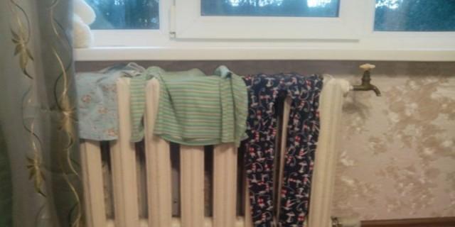Προσοχή: Σταμάτα να στεγνώνεις ρούχα στο καλοριφέρ