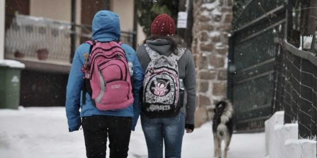 Σχολεία: Αυτά μένουν κλειστά λόγω ψύχους