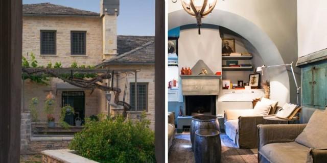 Ζαγόρι: Ο Τάσος Δούσης μας προτείνει έναν παραδοσιακό ξενώνα 200 ετών με βαθμολογία 9,6