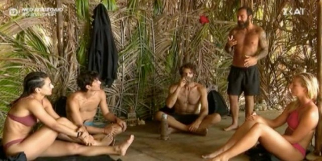 Survivor 4: Αγριεύει η κόντρα Κοψιδά και Τριαντάφυλλου - «Είναι αδύναμος»