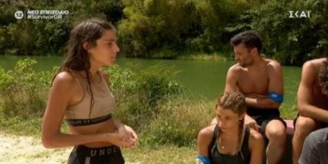 Survivor 4: Άθλια η Άννα Μαρία - Μετά την ήττα των «Μπλε»… έπιασε δουλειά και στόχευσε Αλέξη-Κρις