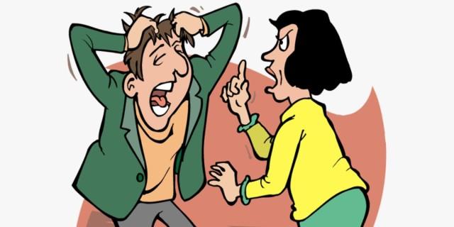 Ένα ζευγάρι καυγαδίζει για τις οικονομικές δυσκολίες... - Το ανέκδοτο της ημέρας (19/04)