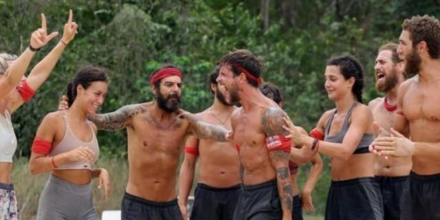 Survivor 4: Reunion Μπλε και Κόκκινοι στο σπίτι του Πάνου Καλίδη