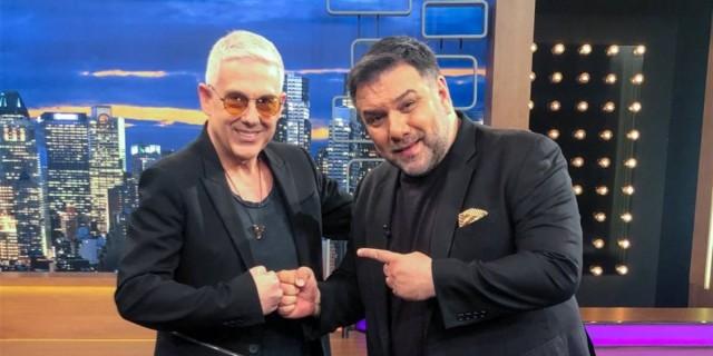 Γρηγόρης Αρναούτογλου: «Σάρωσε» στην τηλεθέαση με καλεσμένο τον Τάσο Δούση