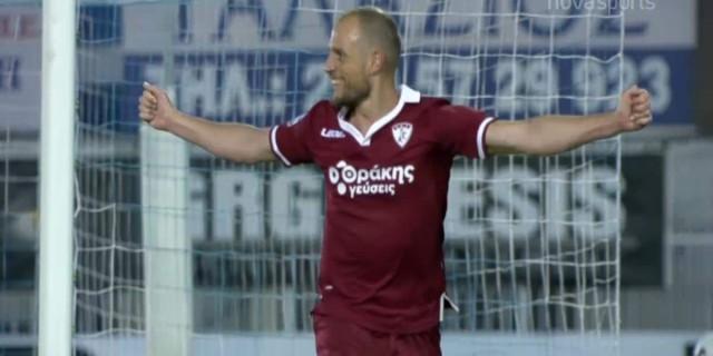 Ατρόμητος - Λάρισα (0-1): Νίκη παραμονής στο Περιστέρι (Video)