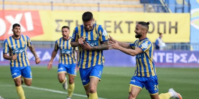 Παναιτωλικός - Απόλλων Σμύρνης (1-0): Νίκη ελπίδας για τα