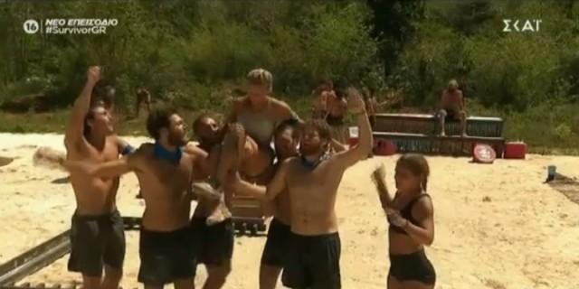 Survivor 4: Δυναμική απάντηση από τους «Μπλε» - Πήραν τη δεύτερη ασυλία