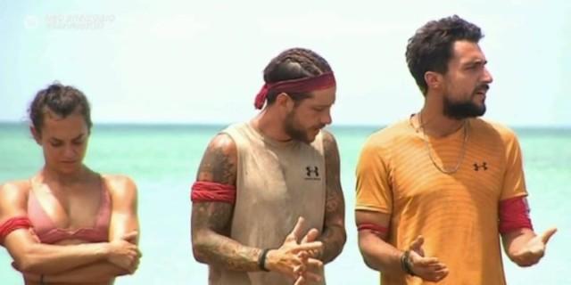 Survivor 4: «Αρπάχτηκαν» Σάκης και Τζέιμς - «Εσύ είσαι το πρόβλημα όλων εδώ μέσα»