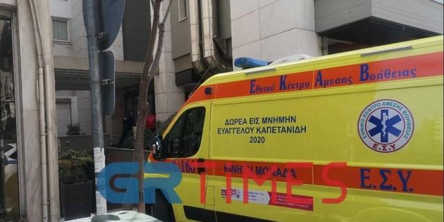 Σοκ στη Θεσσαλονίκη: Νεκρός άνδρας που έπεσε από τον 7ο όροφο πολυκατοικίας