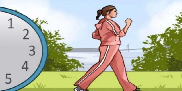 Μεταμορφώστε το σώμα σας με 15 λεπτά περπάτημα καθημερινά