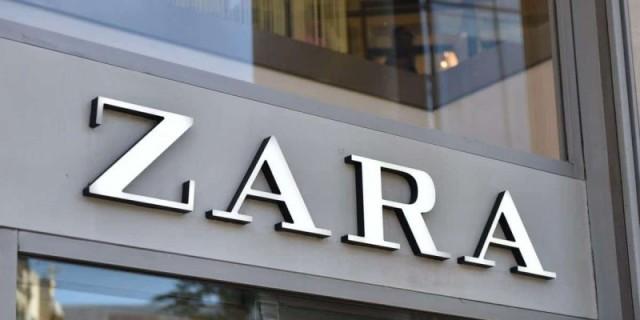 ZARA: Μίντι φόρεμα ζακάρ μόνο με 19,95€