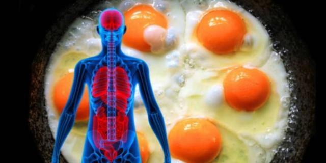 Τι θα συμβεί στον οργανισμό μας αν τρώμε 3 αυγά μέσα δε μια μέρα!