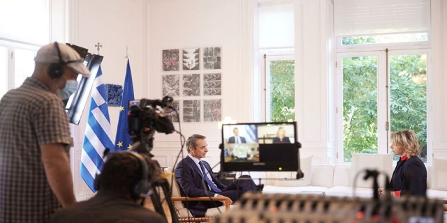Μητσοτάκης σε France24: Να διαχειριζόμαστε τις διαφωνίες μας με την Τουρκία με πολιτισμένο τρόπο -  Ανάσα φρέσκου αέρα ο Μπάιντεν