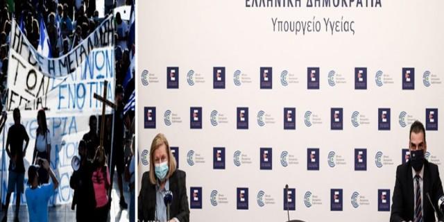 «Άστραψαν και βρόντηξαν» κατά των αντιεμβολιαστών Θεμιστοκλέους-Θεοδωρίδου - «Είναι τσαρλατάνοι» (Video)