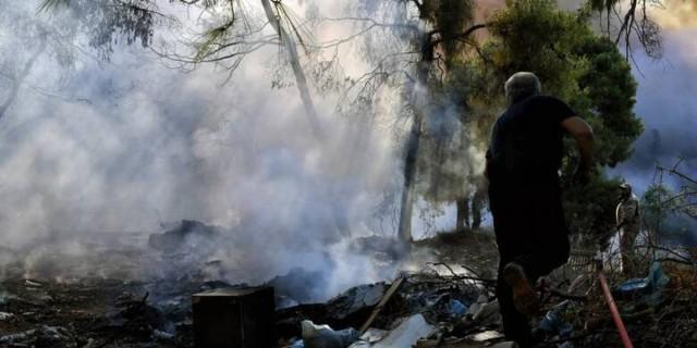 Φωτιά στην Αχαΐα: Απομακρύνθηκαν παιδιά από κατασκήνωση της περιοχής