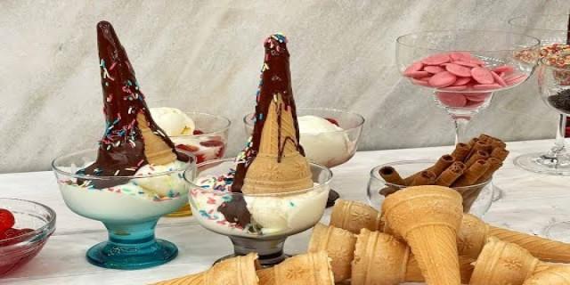 Το πιο γρήγορο και αφράτο παγωτό γιαούρτι